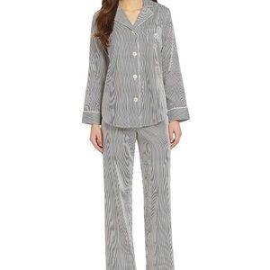 Lauren Ralph Lauren Striped sateen pajamas Med